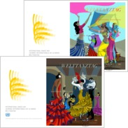 "ONU Vienne 2016 - 2 FDC Feuillets ""International Dance Day"" - FDC"