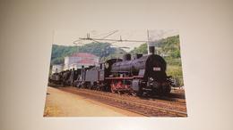 C-51175 LOCOMOTIVA MPF LUCIA TRAINANTE ITALGAS SPIGNO 1980 - Treni