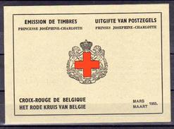 1953    Princesse Joséphine-Charlotte En Carnet, 914 A**, Cote 160 €, - Belgique