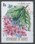 Guinea 1974. Scott #668 (U) Clerodendrum Splendens, Flower * - Guinée (1958-...)