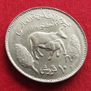 Sudan 10 Ghirsh 1981 FAO F.a.o. Unc - Sudan