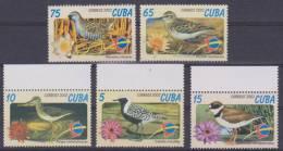 """CUBA 2002  Serie De 5 Sellos Nuevos """"PÁJAROS-BIRDS""""   S-772 - Zonder Classificatie"""