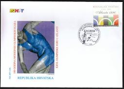 Croatia Zagreb 1996 / 100 Years Of The Olympic Games / Olympic Games Atlanta / FDC - Ete 1996: Atlanta