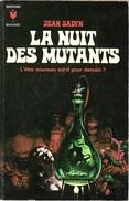 Marabout 347 - SADYN, Jean - La Nuit Des Mutants (1970, TBE) - Marabout SF
