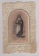 IMAGE PIEUSE - CANIVET -  Image RELIGIEUSE DENTELLEE  XIX ° - SAINTE MADELEINE - Images Religieuses
