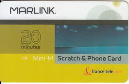 TAAF - Marlink/France Telecom Satellite Prepaid Card 20 Min, Exp.date 31/05/04, Used - TAAF - Franse Zuidpoolgewesten
