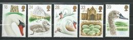 Great Britain 1993 Swans - The 600th Anniversary Of Abbotsbury Swannery.Birds.MNH - 1952-.... (Elizabeth II)