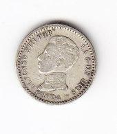 ESPAGNE KM 723 1904 SM SILVER 50 C . (B418) - Monnaies Provinciales
