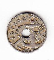 ESPAGNE KM 777 E51 1949 50 C . (B421) - 50 Centimos