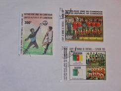 CAMEROUN  1982  LOT# 11  SOCCER WORLD CUP - Cameroun (1960-...)