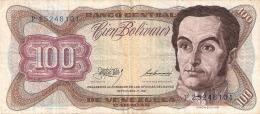VENEZUELA   100 Bolivares   1/9/1981    P. 55g - Venezuela