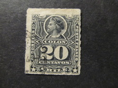 1878/99 - CHILE - COLUMBUS - SCOTT 31 A5 20C (8) - Chile