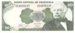 VENEZUELA   20 Bolivares   7/7/1987    P. 64A   UNC - Venezuela