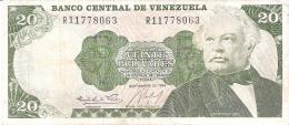 VENEZUELA   20 Bolivares   25/9/1984    P. 64 - Venezuela