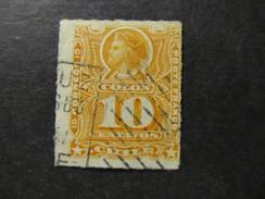1878/99 - CHILE - COLUMBUS - SCOTT 29 A5 10C (12) - Chile