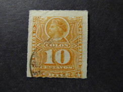 1878/99 - CHILE - COLUMBUS - SCOTT 29 A5 10C (13) - Chile