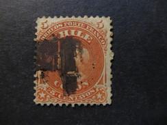 1867 - CHILE - COLUMBUS - SCOTT 17 A2 5C (4) - Chile