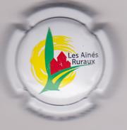 Capsule Champagne Commémo ( Nr ; Les Aînés Ruraux , Fond Blanc ) {S15-17} - Champagne