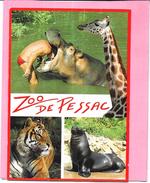 PESSAC - 33 -  Carte Pub Pour Le Zoo  - MOD - - Pessac