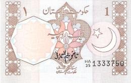 PAKISTAN   1 Rupee   ND (1983-)   Sign.7   P. 27j   UNC - Pakistan