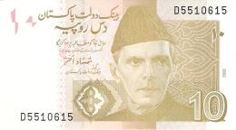 PAKISTAN   10 Rupees   2006   P. 45a   UNC - Pakistan