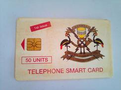 Uganda Phonecard 50 Units First Issue