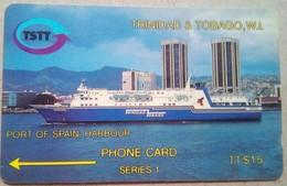 Trinidad Phonecard TT$15 2CTTA  Series 1