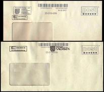 Bund / Post Modern [01129 Dresden]: 'Standardstempel & Finanzamt Dresden, 2017' - Privados & Locales