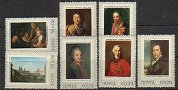 USSR 1972 Mi 4011-4017 - Russian Paintings - Nuevos