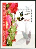 NEVIS 2005** - Colibri' / Hummingbirds - Block  MNH Come Da Scansione.