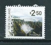 2014 New Zealand $2.50 Pancake Rocks Used/gebruikt/oblitere - Neuseeland