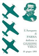 [MD0959] CPM - IN RILIEVO - PARMA - L'AEROPORTO DEDICATO A GIUSEPPE VERDI - NV 1993 - Parma