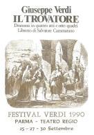 [MD0966] CPM - IN RILIEVO - PARMA - IL TROVATORE - GIUSEPPE VERDI - FESTIVAL VERDI - TEATRO REGIO - NV 1990 - Parma