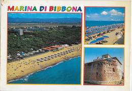 TOSCANA - MARINA DI BIBBONA - VARIE VEDUTE -EDIZ. SA.CAR. - VIAGGIATA 2003 - Italia