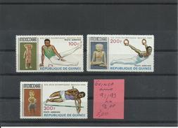 GUINEA YVERT AEREO  91/93    MNH  ** - Verano 1968: México