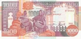 SOMALIE   1000 Shilin = 1000 Shillings   1990   P. 37a   UNC - Somalie