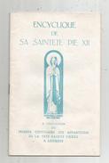Livre , Religion , Encyclique De Sa Sainteté PIE XII, 1958, 15 Pages , Frais 1.95 € - Religion