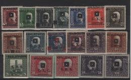 Yougoslavie _ Surch.Bosnie Hercegouina _1919 N°87/104 - Oblitérés