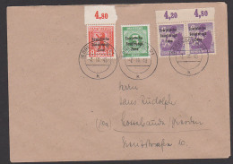 SBZ Bärenausgabe Berlin Oberränder In MiF Mit 5 Pf. Ziffern - Je Mit SBZ-Aufdruck Auf Fernbrief - Zone Soviétique
