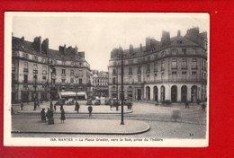 1 Cpa Carte Postale Ancienne -  44 -  NANTES - La Place Graslin, Vers Le Sud - Nantes