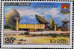 SPACE-SATELLITE TRACKING-DOWNRANGE STATION-CHRISTMAS ISLANDS-MNH-H1-46