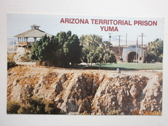 Postcard Arizona Territorial Prison Yuma Postally Used At Tucson In 1979 My Ref B11068 - Prison