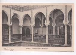 Cpa.Algérie.Alger.1904.Intérieur De L'Archevéché - Algiers