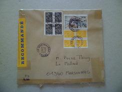 Lettre Recommandée R3 Sans AR De Montmeyran  Le 18/9/2006 Pour Marsonnas Le 19/9 Les PA N° 62  Blocs 4 N°3731 & 3754  TB - Lettres & Documents