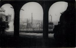 DÉPÔT Bordeaux Bastide - Photo Fenino En 1944, Format Carte Ancienne. - Bahnhöfe Mit Zügen