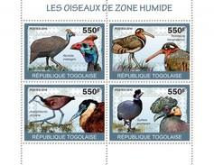 TOGO 2010 - Wetland Birds - YT 2116-9; CV = 14 € - Oiseaux