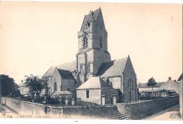 ---- 14 ----  CREPON  L'église - écrite TTB - France