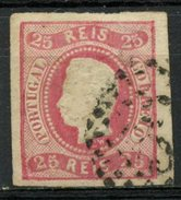 Portugal 1867 25r King Luiz Issue #20 - 1862-1884 : D.Luiz I