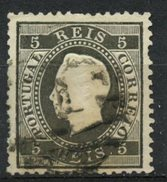 Portugal 1870 5r King Luiz Issue #34 - Used Stamps