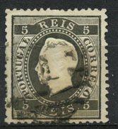 Portugal 1870 5r King Luiz Issue #34 - 1862-1884 : D.Luiz I